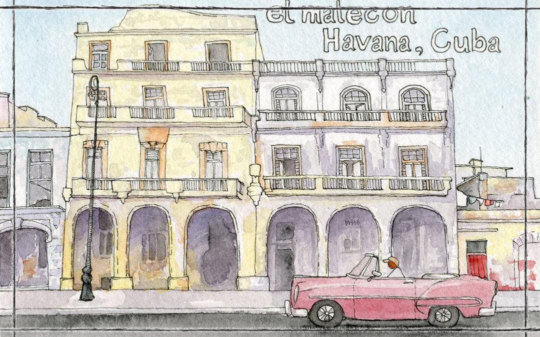 Cuba in Detail: a sketch round up