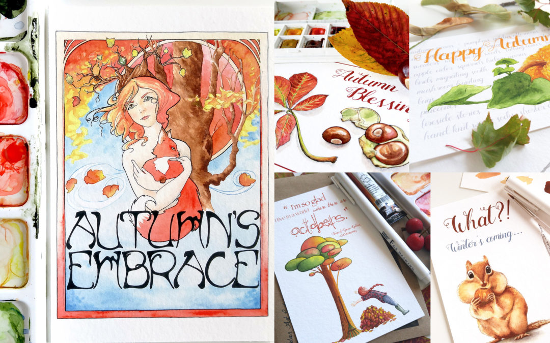 Autumn Postcard Giveaway!