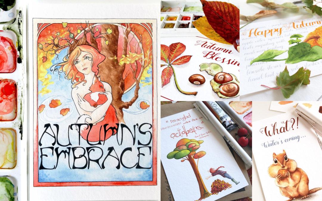 Autumn Postcard Giveaway!