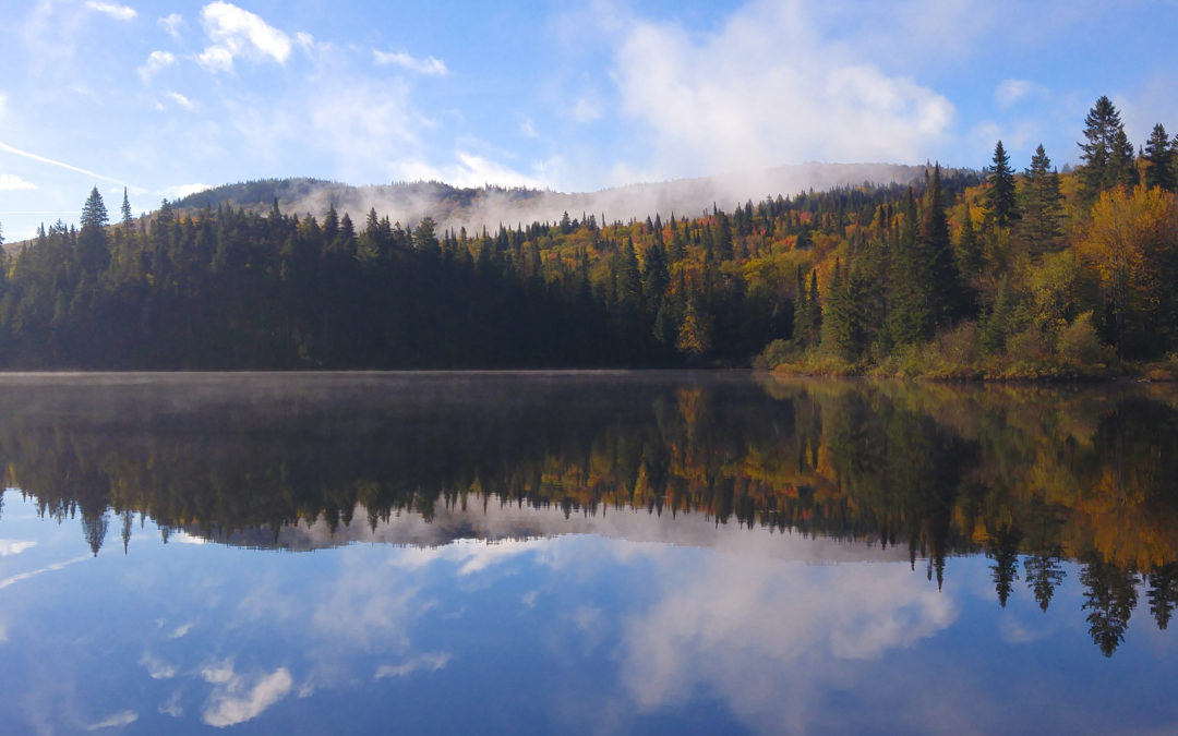 Painting & Camping Photo Essay: Mont Tremblant in Autumn